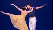 Leanne Cope as Lise and Dimitri Kleioris as Jerry in An American in Paris.