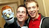 Celebs at Avenue Q - Rod - Ted Allen - Barrett Foa