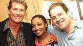 Celebs at Avenue Q - David Hasselhoff - Natalie Venetia Belcon - Jordan Gelber