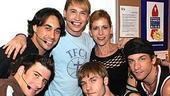 Stars at Altar Boyz - David Josefsberg - Ryan Duncan - Tyler Maynard - Scott Porter - Ellen Greene - Andy Karl