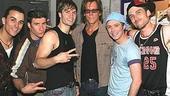 Stars at Altar Boyz - Carlos L. Encinias, David Josefsberg - Scott Porter - Kevin Bacon - Danny Calvert - Kevin Kern