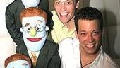 Avenue Q Anniversary/Las Vegas Party - Barrett Foa - John Tartaglia - Jonathan Root