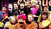 Avenue Q in Vegas - cast onstage