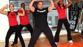 Sweet Charity Workout at NYSC - Candace Simpson - John Paolillo - Kevin Ferguson - LaToya Roberson 3