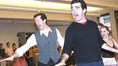 White Christmas Press Event 2005 - Jeffry Denman - Brian d&#39;Arcy James (stage)