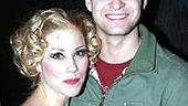 Justin Timberlake at Sweet Charity - Christina Applegate - Justin Timberlake