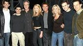 Olivia Newton-John at Jersey Boys - group