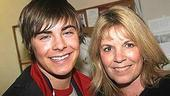 Zac Efron at Avenue Q - Zac Efron - (mom) Starla 