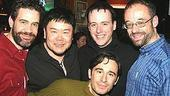 Altar Boyz First Anniversary - Kevin Delaguila - Stafford Arima - Michael Patrick Walker - Gary Adler - Christopher Gattelli