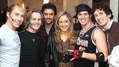 Stars at Altar Boyz 2006 - Tyler Maynard -  Corey Boardman - Clyde Alves - Diana DeGarmo - Andrew C. Call - Dennis Moench