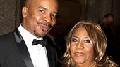 Races Best Featured actor nominee David Alan Grier gets a diva-licious visit from a red carpet VIP, the one and only Aretha Franklin.