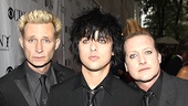 2010 Tony Awards Red Carpet  Mike Dirnt  Billie Joe Armstrong  Tre Cool
