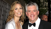 2010 Tony Awards Red Carpet  Julie Jbara  Greg Jbara