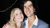 Three cheers for Portia and Bassanio, aka Lily Rabe and Hamish Linklater.
