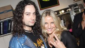 Cameron Diaz and A-Rod at Rock of Ages  Constantine Maroulis  Cameron Diaz