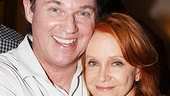 Old pals and Fifth of July co-stars Richard Thomas and Swoosie Kurtz smile for our camera.