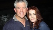 Priscilla Presley drops her next round of compliments on Tony Award winner Gregory Jbara, who wows audiences as Billy's dad.