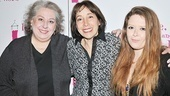Jayne Houdyshell, Didi Conn (who will head back to Love, Loss and What I Wore later this fall), and original cast member Natasha Lyonne (who can currently be seen in off-Broadway's Tigers Be Still) are proud of how far the show has come.