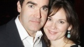 For Brian d'Arcy James, it wouldn't be an opening night without wife Jennifer Prescott there to celebrate!