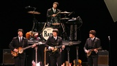 Joey Curatolo, Ralph Castelli, Joe Bithorn and Steve Landes in Rain: A Tribute to the Beatles.