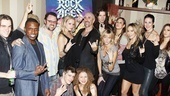 Dee Snider Rock of Ages opening night  ROA Cast
