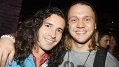 Dee Snider Rock of Ages opening night – Paris Remillard and Matt DeAngelis