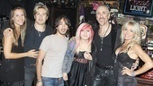 Dee Snider Rock of Ages opening night  Stacey Snider  Jesse Blaze Snider  Shane Snider  Cheyenne Snider  Dee Snider  Suzette Snider