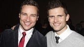 Priscilla's Bryan West gets Next to cutie-patootie boyfriend Kyle Dean Massey.
