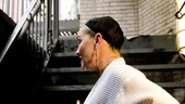 Cherry Jones backstage at Mrs. Warrens Profession  Cherry Jones