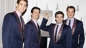 Jersey Boys at Empire State Building  Ryan Jesse  Dominic Nolfi  Jarrod Spector  Matt Bogart
