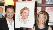 Jason Danieley Sardi's Caricature – Jason Danieley – Marin Mazzie