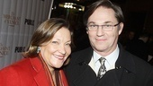 Richard Thomas, who was recently seen on Broadway in David Mamet's Race, spends the evening with his wife, Georgiana.