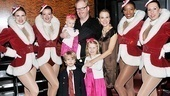 Comedian and actor Jim Gaffigan, whos Broadway-bound this spring in That Championship Season, brought his family along for the holiday fun.