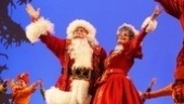 Here comes Santa Claus (George Wendt)and Mrs. Claus, too! 