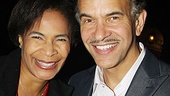 Elf opens  Brian Stokes Mitchell  Allyson Tucker  son