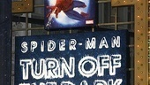 spiderman preview - marquee