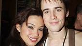 Spiderman preview – Natalie Mendoza – Reeve Carney