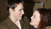 Spiderman preview  Reeve Carney  Jennifer Damiano  2