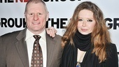 Gordon Clapp and Natasha Lyonne may play father and daughter in a family that's falling apart, but offstage the two enjoy each other's company.