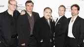 Championship season meet and greet – Jim Gaffigan – Chris Noth – Brian Cox – Kiefer Sutherland – Jason Patric.