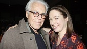 John Guare, whose A Free Man of Color recently wrapped a run at Lincoln Center, congratulates Elizabeth Marvel on her powerful performance.