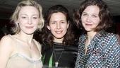 Three Sisters opens – Juliet Rylance – Jessica Hecht – Maggie Gyllenhaal