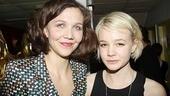 Three Sisters opening – Maggie Gyllenhaal – Carey Mulligan