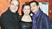 Compulsion's cadre of amazing actors: Mandy Patinkin, Hannah Cabell and Matte Osian.