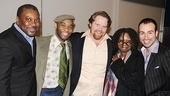 Sister Act Meet and Greet – Kingsley Leggs – Demond Green – John Treacy Egan – Whoopi Goldberg – Caesar Samayoa
