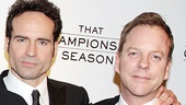 That Championship Season opening night  Jason Patric  Kiefer Sutherland