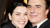 That Championship Season opening night  Julianna Margulies  Chris Noth