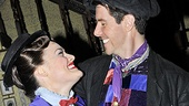 Hello again! Brown and Lee have worked together in Mary Poppins both on Broadway and in the show's national tour.