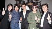 John Stamos joins in the British invasion with Ringo Starr (Joe Bologna), George Harrison (Joe Bithorn) John Lennon (Steve Landes) and Paul McCartney (Joey Curatolo).