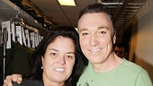 Rosie ODonnell Visits Spider-Man, Turn off the Dark  Rosie ODonnell  Patrick Page